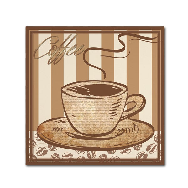Masters Fine Art 'Coffee ' Canvas Art 27049751