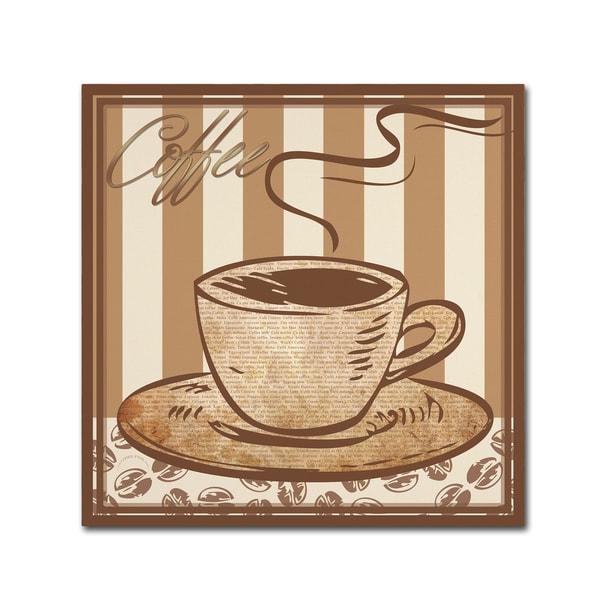 Masters Fine Art 'Coffee ' Canvas Art 27049749