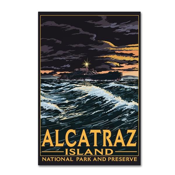 Lantern Press 'Travel Poster 33' Canvas Art 27054239