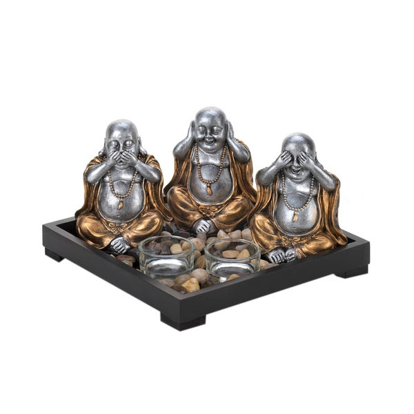 Koehler home decor No Evil Buddha Candle Garden 27059218