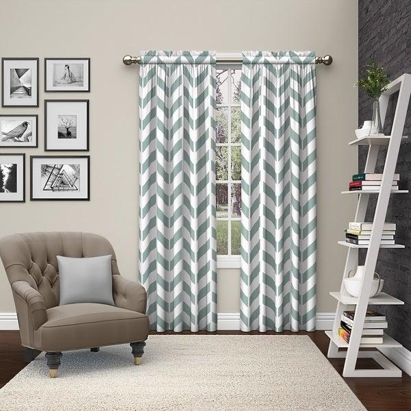 Pairs to Go Dewitt Rod Pocket Curtain Panel Pair 27060341