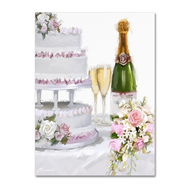 The Macneil Studio 'Wedding Cake' Canvas Art 27062357