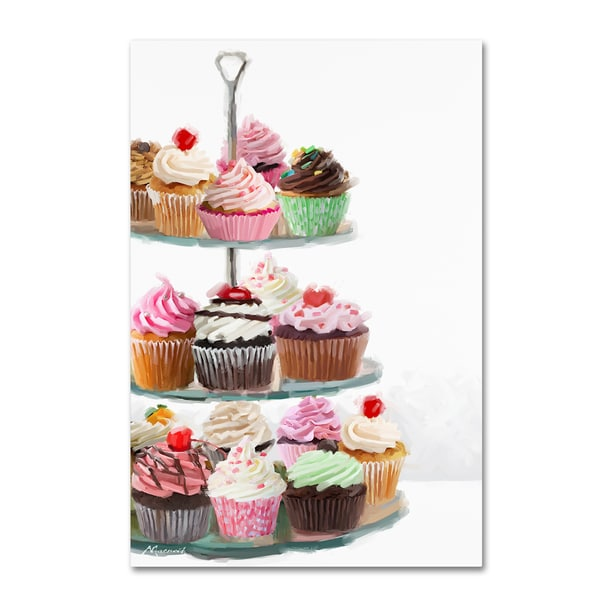 The Macneil Studio 'Cup Cakes' Canvas Art 27062723