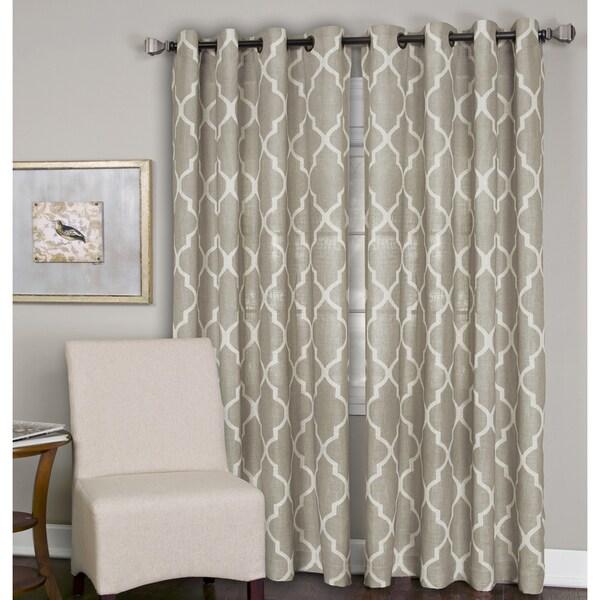 Elrene Medalia Grommet Top Curtain Panel 27080282