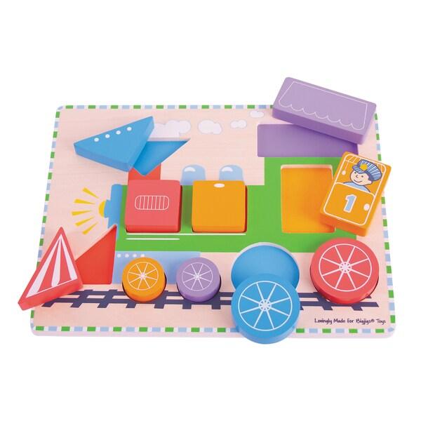 Bigjigs Toys Chunky Train Puzzle 27097916