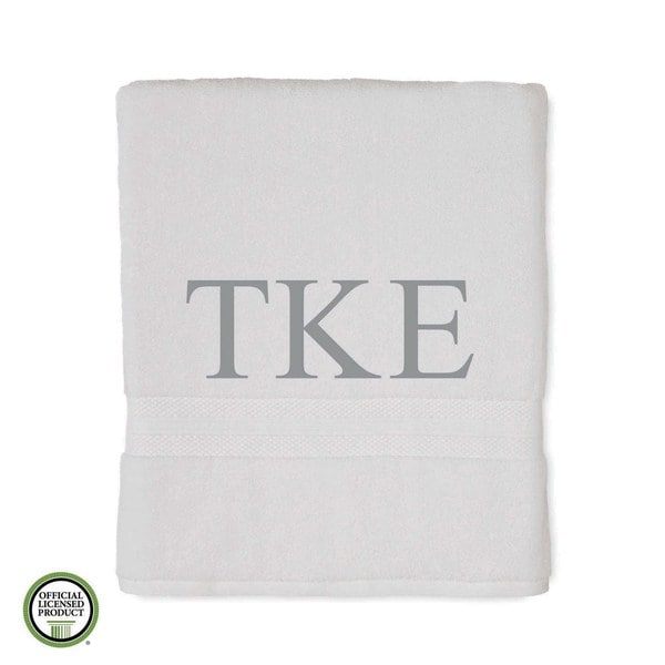 Martex Abundance Tau Kappa Epsilon Monogram Bath Towel 27111778