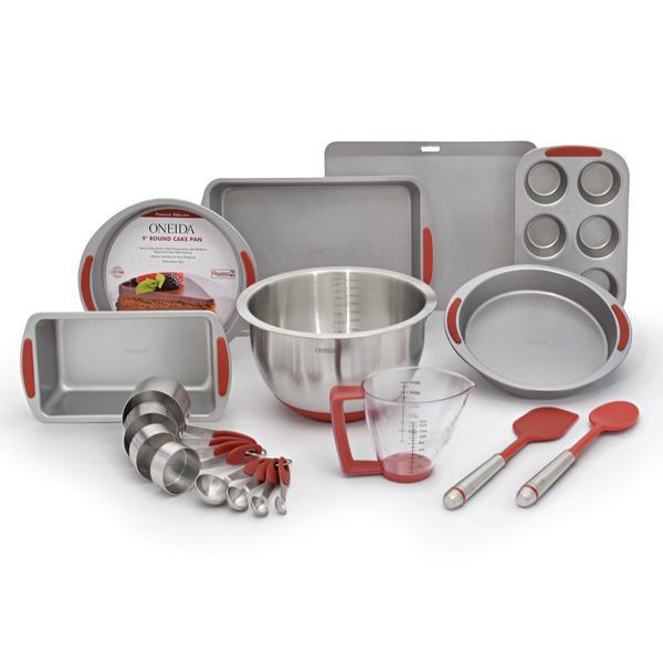 Oneida Silicone 18-Pc Bakeware Set 27115572