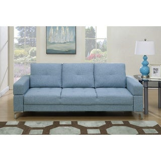 Alice Fabric Upholstered Adjustable Sleeper Sofa