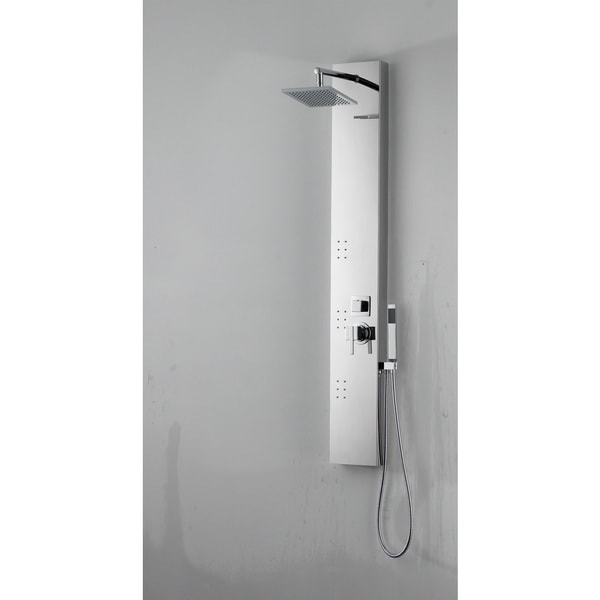 Rectangle Wall Mount CUPC Approved Stainless Steel Shower Panel In Chrome Color -  American Imaginations, AI-19582
