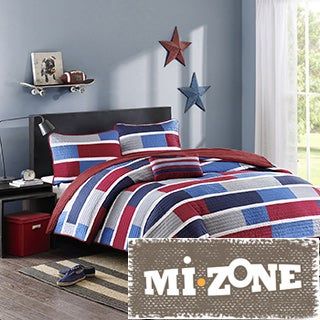 Mi Zone Nicholas 4-piece Coverlet Set