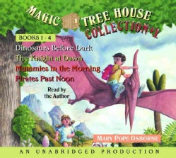 Magic Tree House Collection 1 Books 1-4: Dinosaurs Before Dark/The Knight at Dawn/Mummies in the Morning/Pirates P... (CD-Audio)