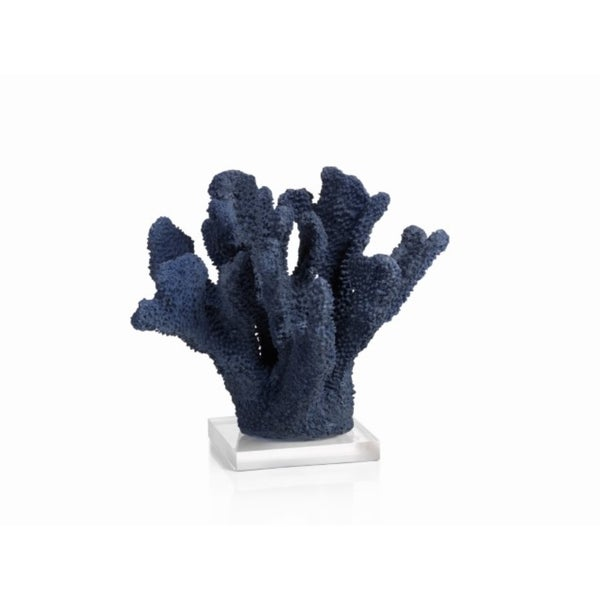 Pacific Blue Coral Sculptures, Acrylic Base 27134781