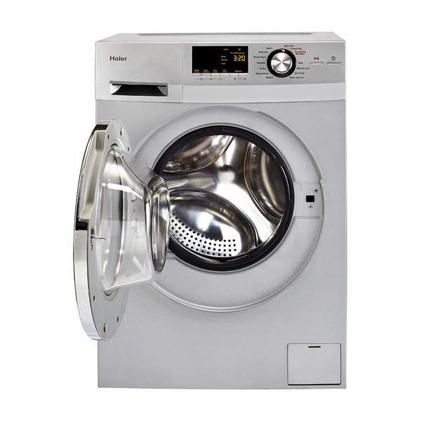 "Haier HLC1700AXS 24"" Front Load Washer/Dryer Combo 27137728"
