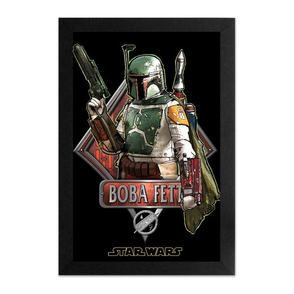 Star Wars- Boba Fett' Framed Print 27143275