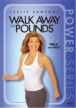 Walk Away The Pounds: Walk & Kick (DVD)