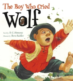 The Boy Who Cried Wolf (Hardcover)