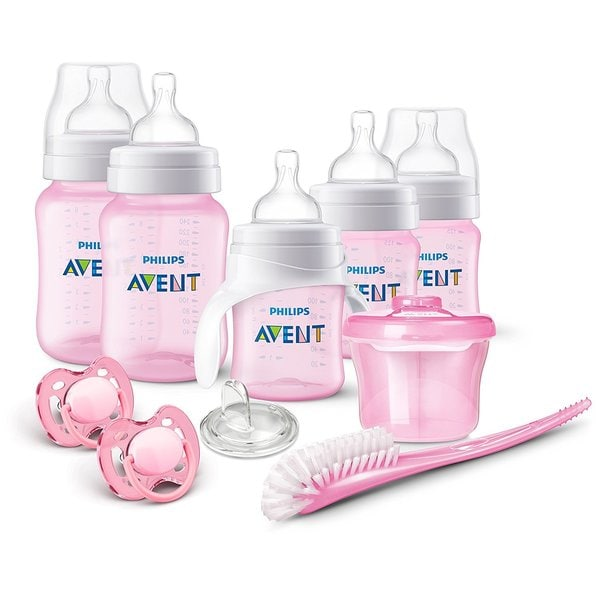 Philips Avent Pink Anti-Colic Bottle Newborn Starter Set 27181577