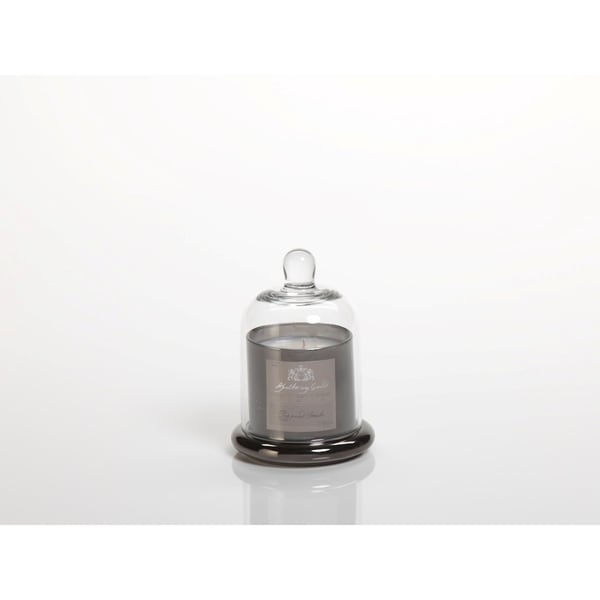 Small Glass Jar Candle with Bell Cloche, Peppered Smoke Scent (Set of 2) 27182452