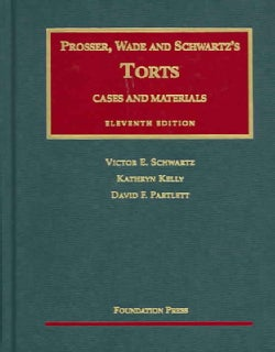Cases and Materials on Torts (Hardcover)