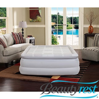 Simmons Beautyrest Memory Foam Queen-size 18-inch Pillow Top Air Bed