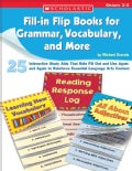 Fill-In Flip Books for Grammar, Vocabulary, And More: 25 Interactive Study AIDS That Kids Fill Out And Use Again ... (Paperback)
