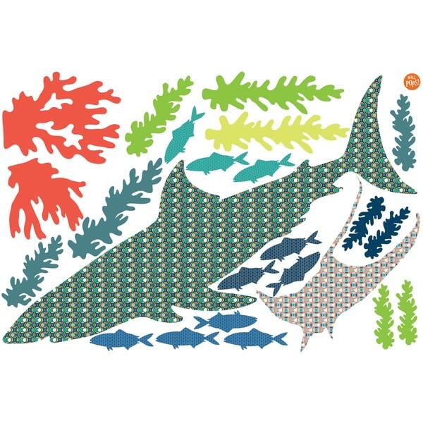 Bart The Shark Wall Art Kit 27234390