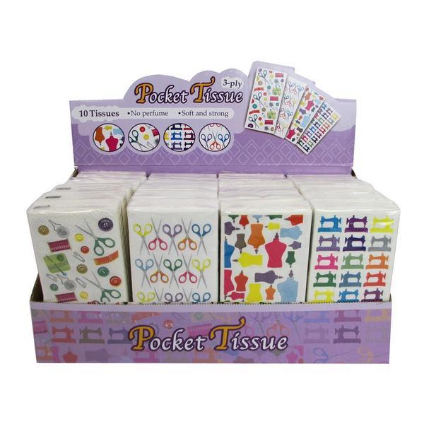 Tacony Pocket Tissue POP 24pc 27235175
