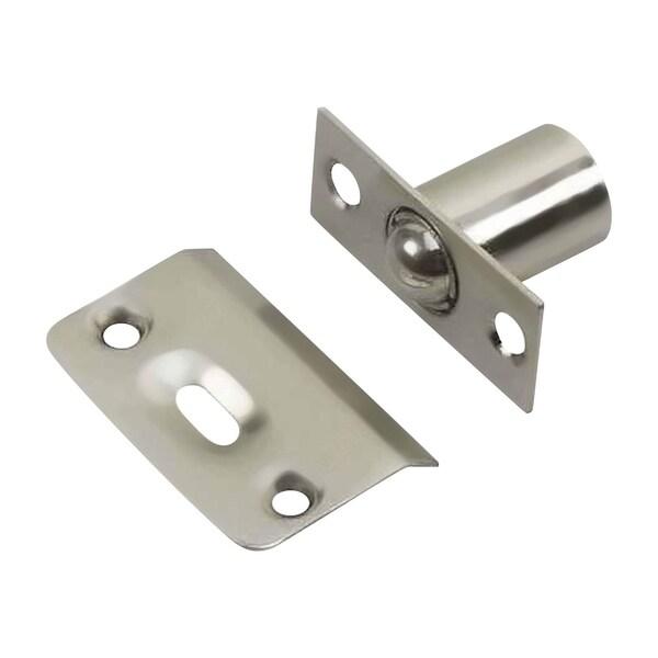 2 Pack Rok Hardware Brushed Nickel Adjustable Ball Catch Latch Cabinet Door 27237344