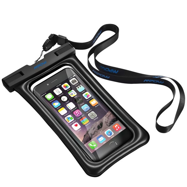 Mpow Floatable Waterproof Case, Dry Bag Cellphone Pouch for iPhone 7/ 7 Plus, Google Pixel, LG G6, Huawei P9/ P9 Plus, Galaxy S8 27238804
