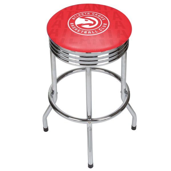 NBA Chrome Ribbed Bar Stool - City 27250673