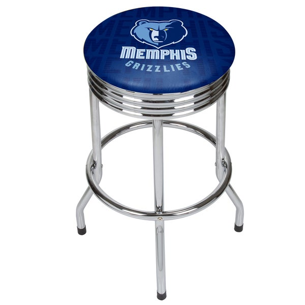 NBA Chrome Ribbed Bar Stool - City 27250682
