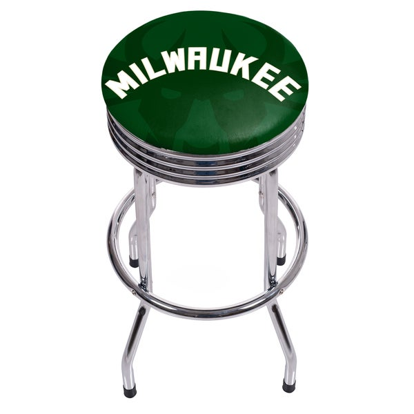 NBA Chrome Ribbed Bar Stool - Fade 27250974