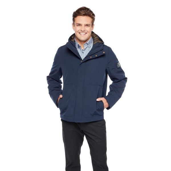Bass Men's Arctic Cloth Hooded Storm Jacket 27252540