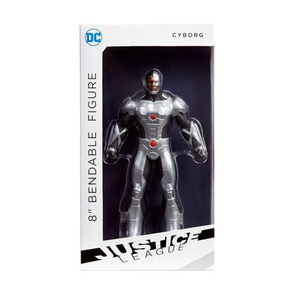 """DC Comics Justice League Cyborg 8"""" Bendable Figure 27252969"""