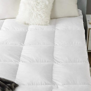 Byourbed Baffle Box Down Goose Featherbed - White
