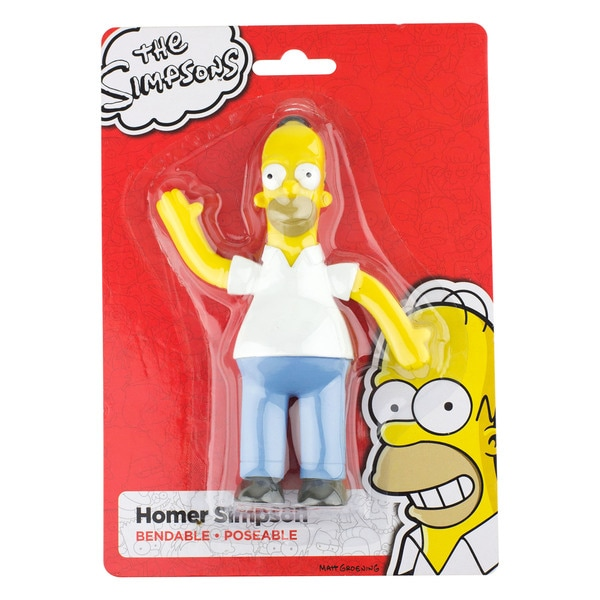 "Homer Simpson 6"" Bendable Figure 27257078"