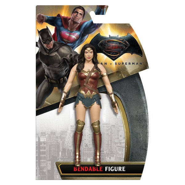DC Comics Batman vs. Superman - Wonder Woman Bendable Figure 27257117