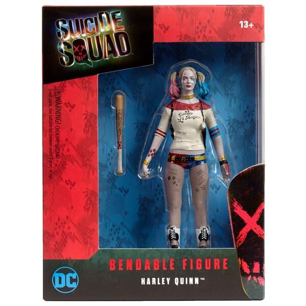 DC Comics Suicide Squad Harley Quinn Bendable Figure 27257126