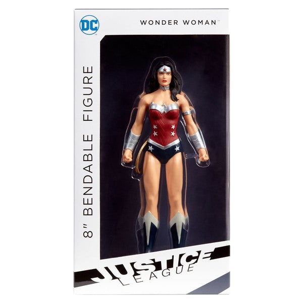 "DC Comics - Justice League Wonder Woman 8"" Bendable Figure 27257148"