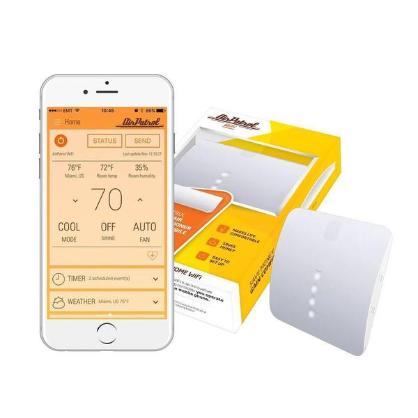 AirPatrol WiFi. Smart Air Conditioner Controller for mini-split, window or portable AC. iOS/Android Compatible, ... (As Is Item) 27267647