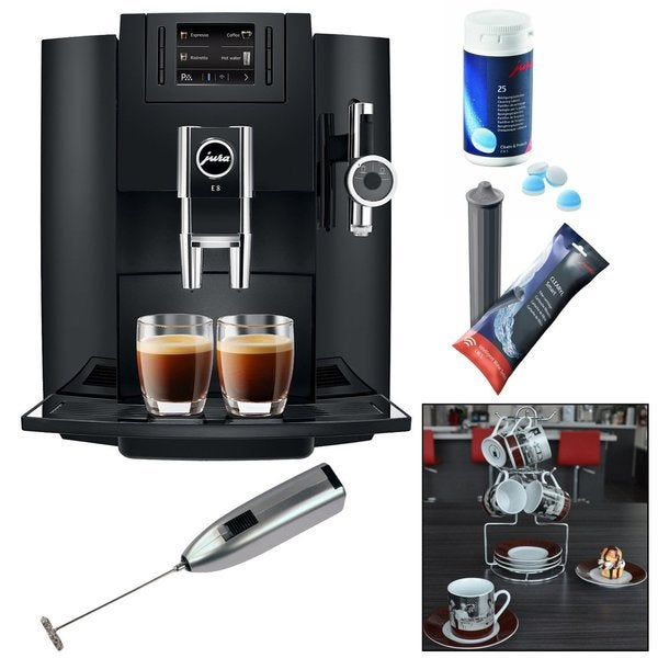 jura e8 jura e8 espresso machine e8 espresso machine. Black Bedroom Furniture Sets. Home Design Ideas