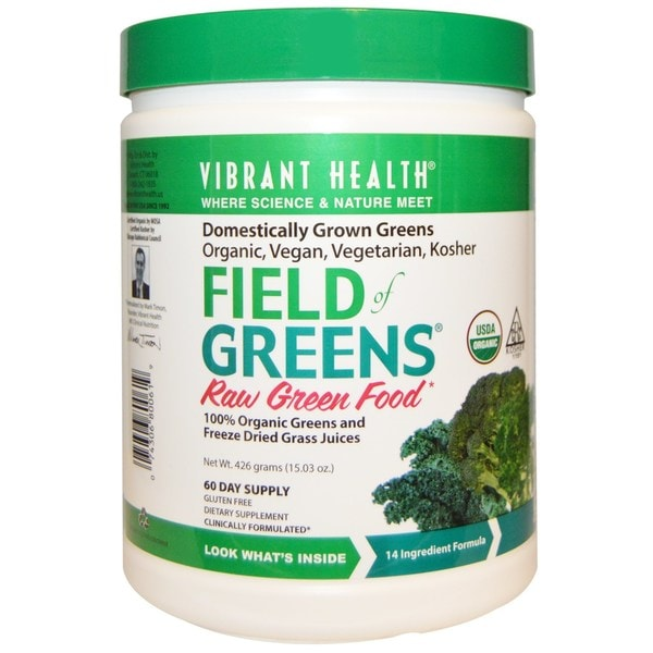 Vibrant Health Field of Greens Raw Green Food (60 Servings) 27278621