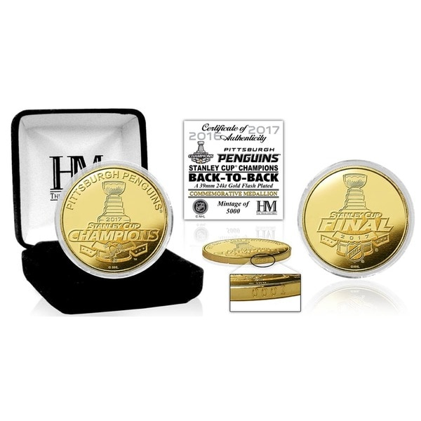 2017 Stanley Cup Champions Gold Mint Coin 27301569