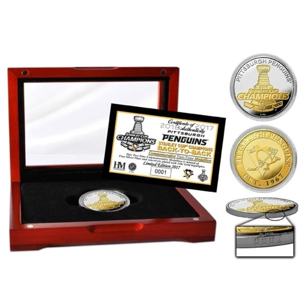 2017 Stanley Cup Champions Two-Tone Mint Coin 27301588