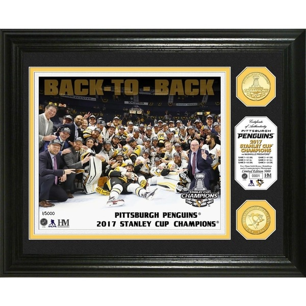 2017 Stanley Cup Champions Bronze Coin Photo Mint 27301604