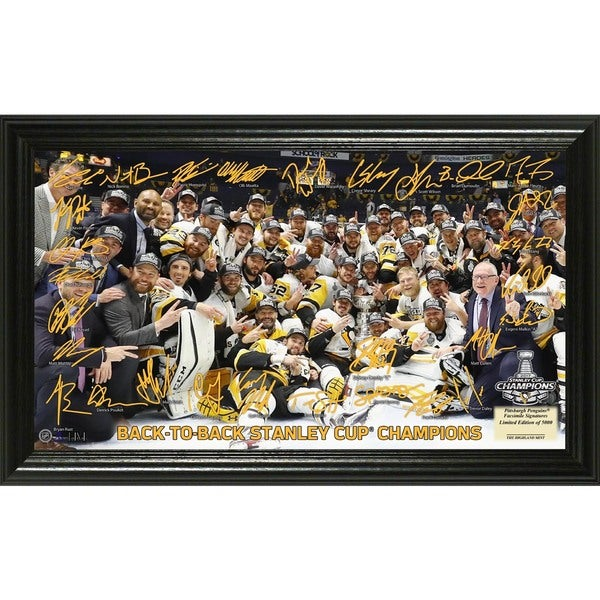 2017 Stanley Cup Champions Signature Rink 27301606