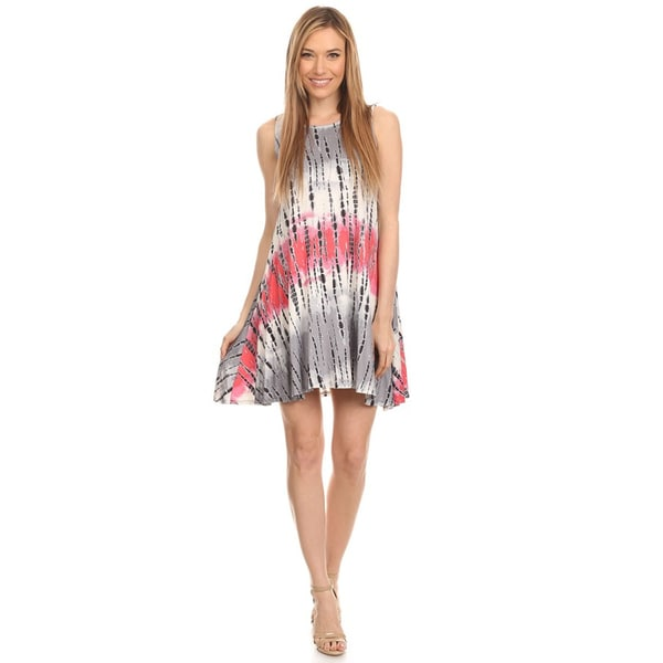 Women's Sleeveless Tie Dye Tunic 27301614