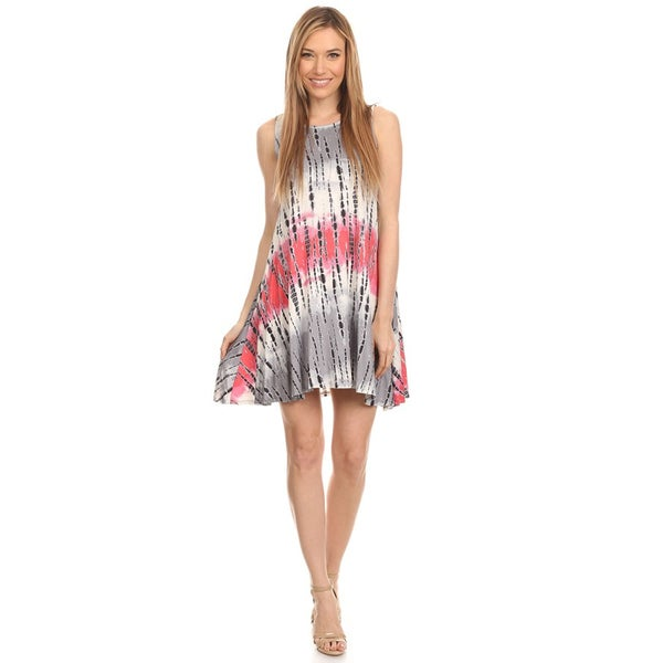 Women's Sleeveless Tie Dye Tunic 27301613