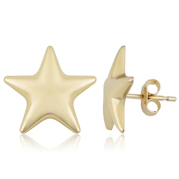 Fremada Italian 14k Yellow Gold Stud Earrings 27302331
