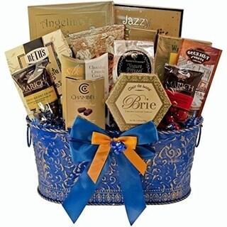 True Blue Gourmet Food Gift Basket